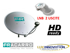 Kit Parabola Fracarro hd antenna parabolica kit parabola 2 uscite lnb