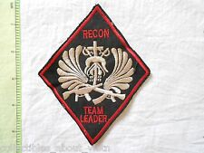 Patch_ RECON TEAM LEADER 5th SFGrp MACV-SOG RT ILLINOIS CCC _ 5TH USSF