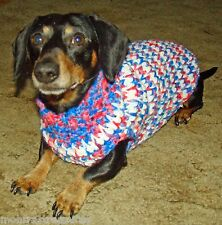 MC-7 🐾 Look At Me Now Dog Pet Sweater Crochet Pattern Instructions