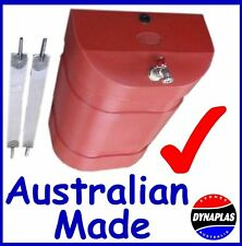 RED 32 LITRE TRUCK WATER TANK SUIT 4X4 4WD SEMI TRAILER CAMPER CARAVAN POLY NEW