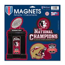"Florida State Seminoles 2013 BCS Champions 11""x11"" Die Cut Magnet Sheet"