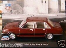 TALBOT SIMCA SOLARA GL DE 1980 IXO ALTAYA 1/43 BORDEAUX