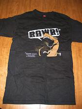 RAWR Means I Love You small T shirt humor tee V-neck pop-art Dinosaur