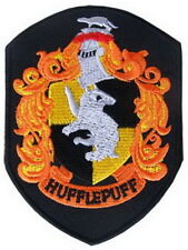 Harry Potter Hufflepuff Crest Embroidered Iron Patches