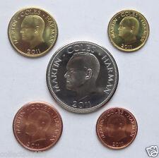 Lundy Coins Set of 5 Pieces 2011 UNC