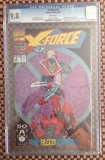 X-Force #2 (Sep 1991, Marvel) CGC 9.8 2nd App of Deadpool NM/MT WP Movie Coming