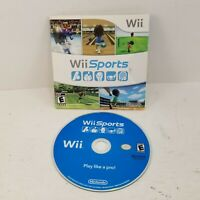 Wii Sports (2006) Nintendo Wii Classic Game Complete w/ Sleeve Tested