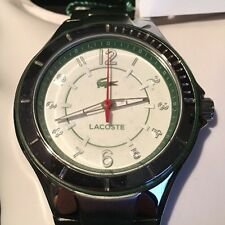 Genuine Lacoste Acapulco Stainless Steel And Green Watch LC2000814