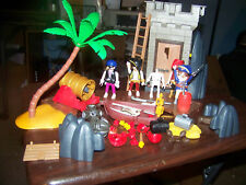 Playmobile #5782 Pirates Hideout In Box Appears Complete