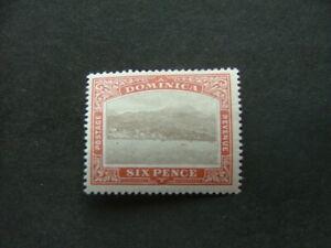 Dominica 1903 6d grey & chestnut SG32 MM