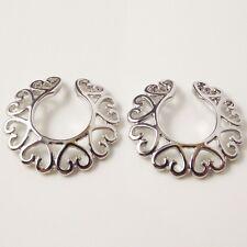 2 no perforada falso pezón anillo Escudo Bar Clip No Piercing vendedor del Reino Unido