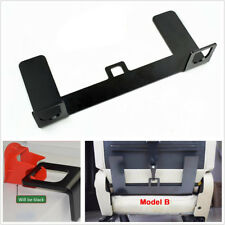 Black Steel Latch ISOFIX Belt Connector Car Seat Belt Interfaces Guide Bracket