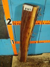 "# 8763,  2 9/16"" thick Black Walnut Live Edge Slab lumber craft wood"