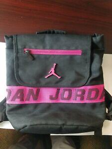Nike Air Jordan Mini Jumpman Backpack Black and Pink