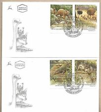 Israel 2 FDC´s Animals In The Bible Year 2009