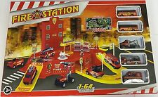 Deluxe Fireman Fire Station Extra Large Playmat E VEICOLI PLAYSET