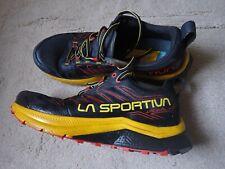 La Sportiva Jackal Trail running Shoes - UK Size 9 - Black/Yellow