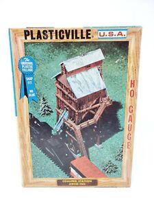 Vintage Plasticville USA HO Scale Coaling Station Open Box Unbuilt