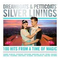 DREAMBOATS & PETTICOATS - SILVER LININGS - ROY ORBISON CLIFF - 4 CDS - NEW!!