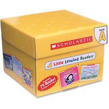Scholastic Little Leveled Readers Level A Box Set, 75 Books, Multi 0545067693