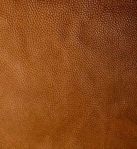 Tan Brown Leather Remnants 2.5mm Full grain aniline soft cowhide various sizes
