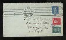 DEUTSCHLAND - DR 1927 Brief aus Leipzig Buntfrankatur + In Leipzig entwertet