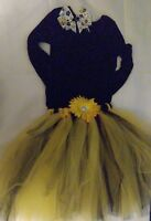 girls tutu skirt, new, handmade, dress up clothes, play clothes, pretend.