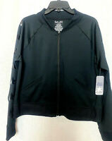 Splendid Women's Large Black Lightweight Quick Dry Full Zip Athletic  Jacket