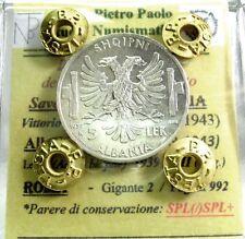 Savoia-Regno d'Italia (Vittorio EM.III) Albania-5 LEK
