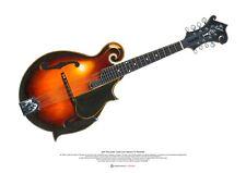 Juan Pablo Jones ' Lloyd Loar Gibson F-5 Mandolina Póster Arte A2 Tamaño