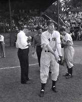 "Joe DiMaggio - 8"" x 10"" Photo - 1947 Doubleday Field - Cooperstown, New York"
