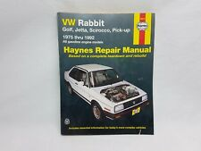 VW Rabbit - Golf, Jetta, Scirocco, Pickup - 1975 - 1992 Haynes Repair Manual