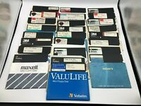 """Lot of 25 Used Blank Commodore 64 & 128 5.25"""" Floppy Disks PC Software Games 7"""