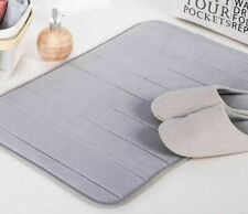 Suede Rugs Carpets Bathroom Silicone Floor Shaggy Bath Memory Foam Kitchen Mats