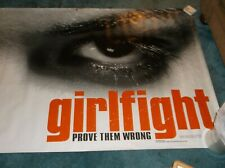 Girlfight(2000)Original Mylar Banner 4'By10' Unused!
