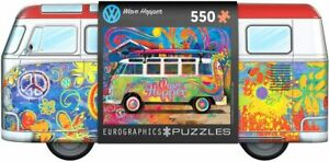 VW Wave Hopper 550-Piece Puzzle in Collectible Tin with Poster (pz)