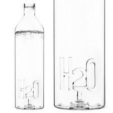 Balvi WATER BOTTLE H2O - 1.2L Borosilicate Glass DRINK Juice SODA PICNIC
