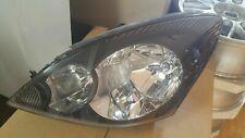 Headlights PAIR Mitsubishi Magna TL / TW Verada KL / KW BLACK - NEW GENUINE - MR