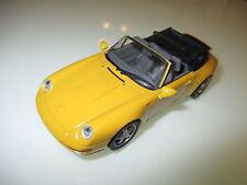 Porsche 911 Carrera Cabriolet (Typ 993 / 1994) gelb yellow, Minichamps in 1:43!