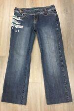 Ladies size 11 BILLABONG Designer Denim Jeans - Short Length 93cm - *Great CON*