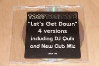 Tony Toni Tone - Let's Get Down - 4 Versions - Mercury 1997 DJ QUIK PROMO CD