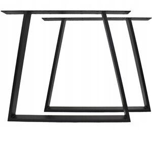 2x Tischgestell Handgemachte  Tischbeine Tischuntergestell Haarnadel 80x72 DiY