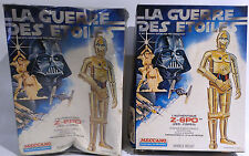 STAR WARS : Z-6PO (AKA C-3PO) MADE BY MECCANO (FRANCE) CIRCA 1977 - VINTAGE KIT