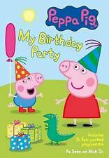 Peppa Pig My Birthday Party DVD New/Sealed!! 14 Fun Episodes!! Nick Jr. Show!