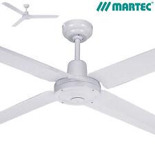 "56"" Trisera 1400mm White Ceiling Fan  3 Or 4 Blade FST1434W Martec Lighting"