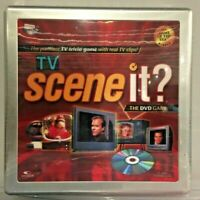 TV Scene It? The DVD Trivia Game (Game of the Year Winner) Tin Box Edition / New