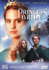 THE PRINCESS BRIDE - CAREY ELWES & WRIGHT -  NEW DVD