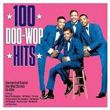 100 Doo Wop Hits Original Classics on 4 CDs Box Set The Platters Miracles + More