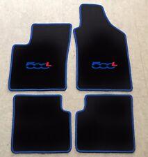 Autoteppich Fußmatten für Fiat 500L VAN SUV ab 2012' blau rot 4teilig Neuware
