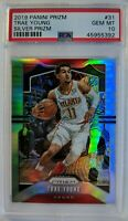 2019-20 Panini Prizm Silver Trae Young #31, Refractor, Graded PSA 10, Pop 15 !